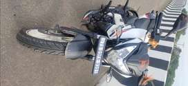 Ns200BS6 WHITE