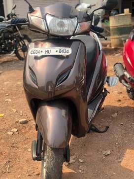 Honda activa 3g 2015 brown in excellent condition !!