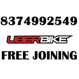 CHANCE TO EARN DAILY INCOME FROM UBER BIKE/FREE JOINING