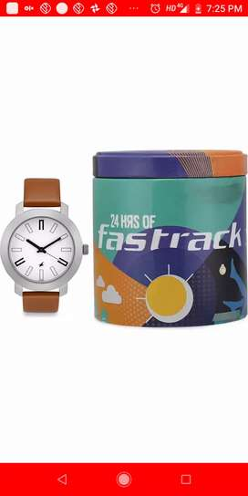 Fastrack wrist watch for men