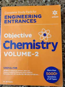 Objective chemistry vol. 2 by Dr. RK Gupta