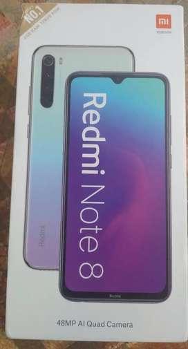 Redmi Note 8 6GB/128GB (sealed box)