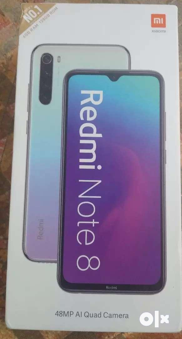Redmi Note 8 6GB/128GB (sealed box) 0