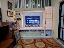 Backdrop TV model terbaru, bisa custom