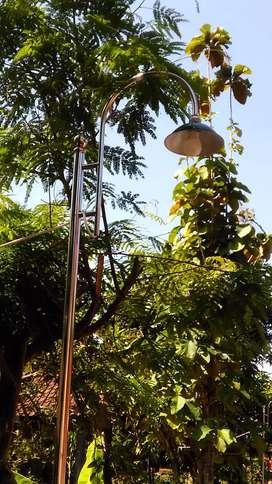 Tiang lampu stanless