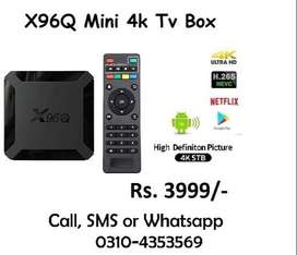 X96q Mini 4k v10.0 Android 2gb 16gb guaranteed Home delivery possible