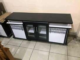Rak tv minimalis ( P 155 x L 45 x T 65 cm )