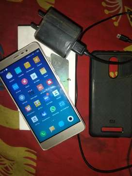 Redmi note 3 3gb 32gb fully new condition