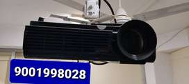 Laptop lenovo dell PC LED projector