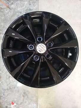 15 inch 114 pcd suitable for maruthi ertiga , Toyota innova , SX4 ,etc