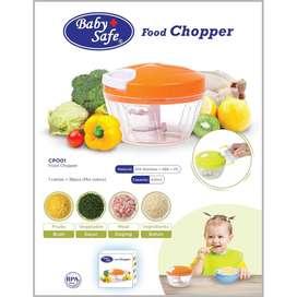 Baby Safe Food Chopper CP001 (Manual Blender)  pengolah makanan bayi M