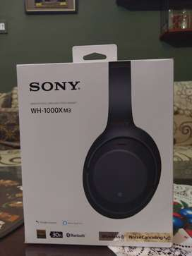Sony wh1000xm3 almost brand new