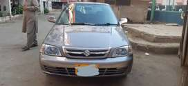 suzuki cultus 1st owner grey metalic colour bilkul untuch and genuine.