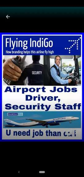 Hiring Driver's and Security staff in Airports