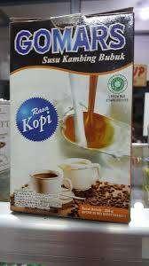 Susu Kambing GOMARS ・ Rasa kopi — PRODUK ORIGINAL