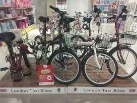 Sepeda lipat London taxi bisa kredit tanpa DP bunga 0% syarat mudah