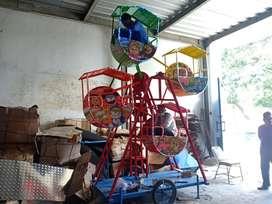Mainan eskavator beko keruk capit kincir angin mini komedi putar 11