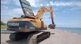 Excavator disewakn
