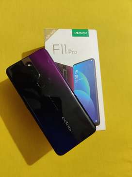 Oppo F11 pro 12 month old 6gb/64gb