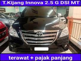 Toyota Kijang Innova 2.5 Diesel Manual 2013  gril besar