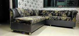 Two Full Piece Large Hall Sofa