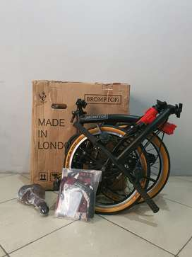 Brompton CHPT3 V2 2019 | Sepeda Lipat / Road Bike | Used like new