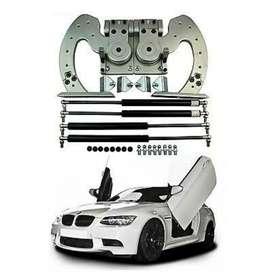 Car vertical door hinges kit