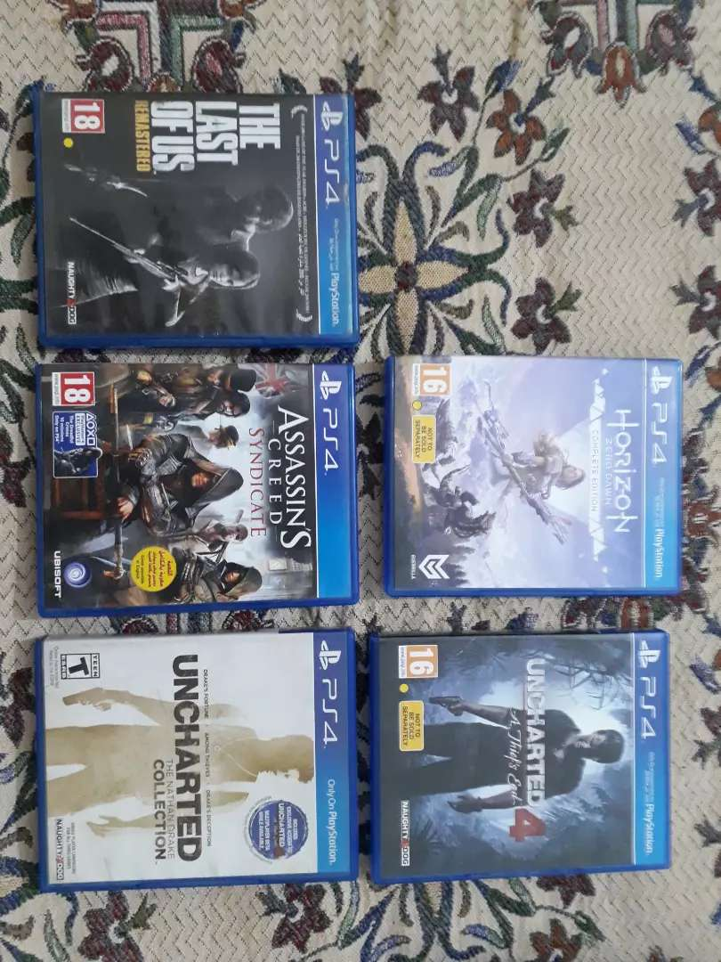 Playstation 4 (PS4) Games for Sale 0