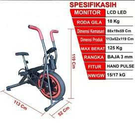 Alat olahraga platinum bike HD//magnetic bike HD//orbitrack