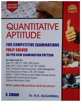 RS AGRAWAL APTITUDE BOOK IN ENGLISH