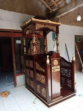Mimbar masjid kubah bagus 06