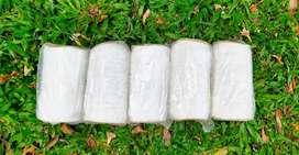 Tali masker putih
