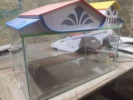 Aquarium 2.5 ft for sell with cover( new )