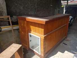 Meja kayu jualan harga teman daripada tak digunakan Monggo maksimalkan