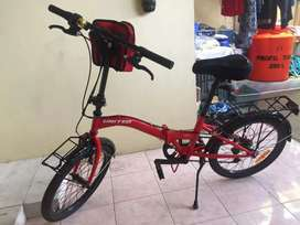 Sepeda lipat unit like new pembelian april 2020