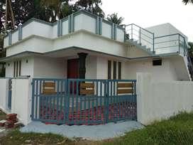 2 bhk 750 sqft 3 cent new build house at varapuzha near olanad