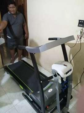 Treadmill elektrik paris auto incline ( gratis ongkir dan perakitan )