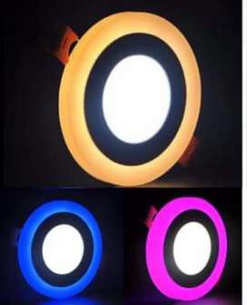 LAMPU PLAFON/ LAMPU DOWNLIGHT 2 WARNA
