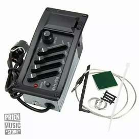 Preamp EQ 7545R pickup gitar akustik elektrik