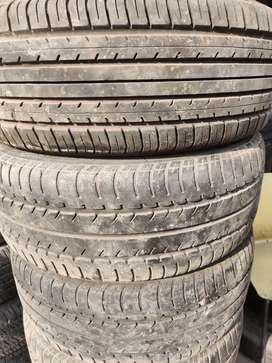 Used Bridgestone tyre 205/55/R16