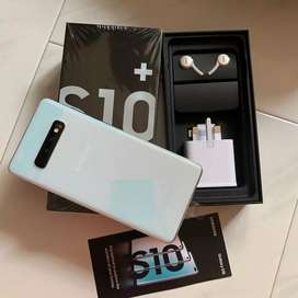 SAMSUNG S10+ available for sale 128gb and 8gb in warranty