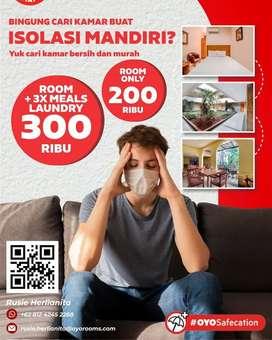 ISOLASI MANDIRI MURAH di JAKARTA