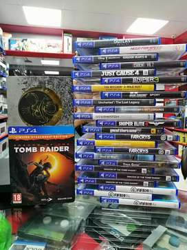 All kinds of new and used  Ps4 games
