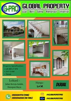 Dijual Rumah Mewah Jalan Seroja Hangtuah