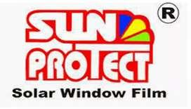Jual bahan kaca film Rol Rolan Suntprotect