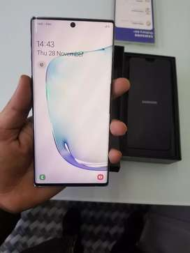 Samsung Note 10 plus 12/256Just 1 month old.