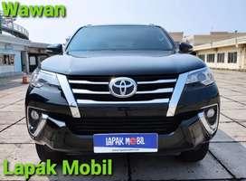 Toyota Fortuner 2.4 G Diesel Matic 2016 Km 82rb Pajak 1 Tahun
