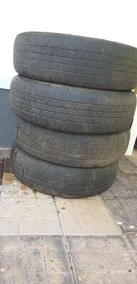 Innova crysta 16 inch used tyre