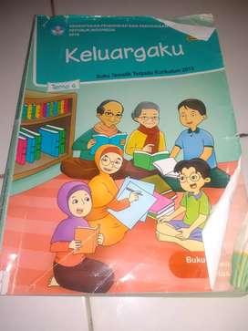 Buku tematik SD/MI kelas 1 tema 4