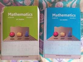 R D Sharma mathematics class 12 vol 1 and 2